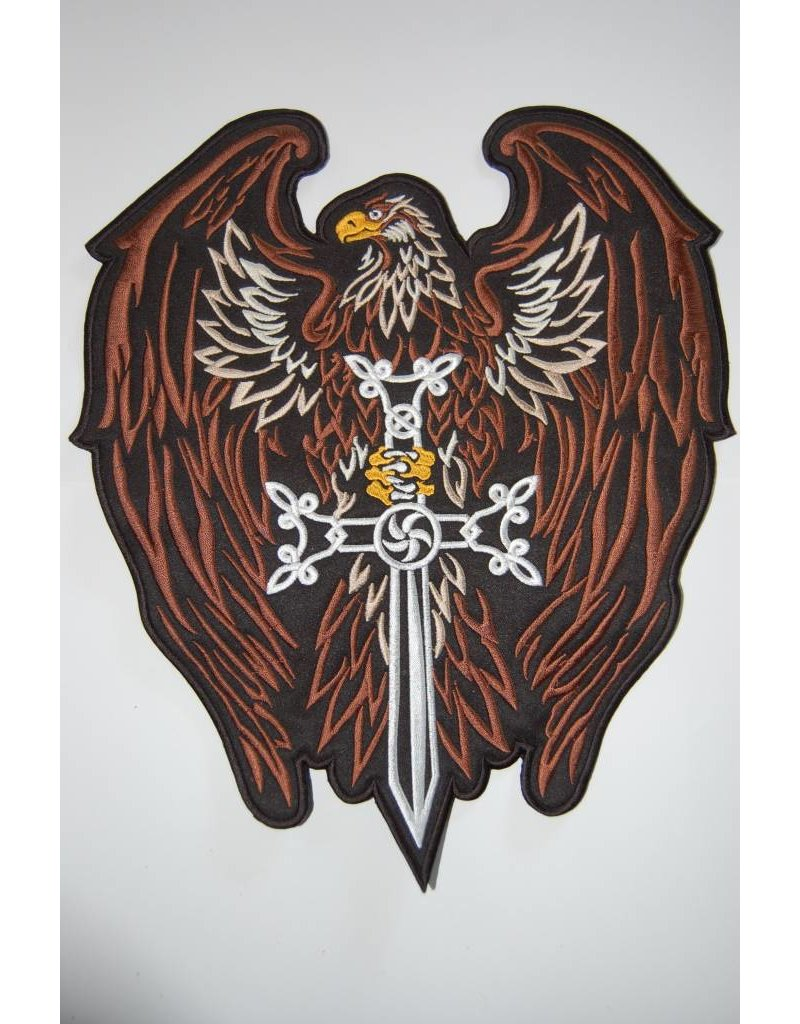 Eagle with Sword Brown 467 R