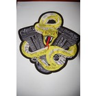 Snake on Engine Yellow