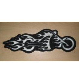 Badgeboy Bike in Flames Black