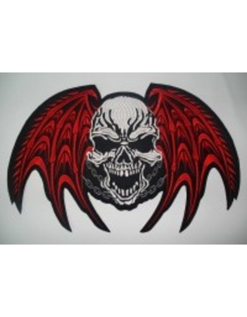Badgeboy Winged skull big 103 R