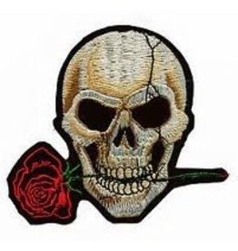 Badgeboy Skull and rose