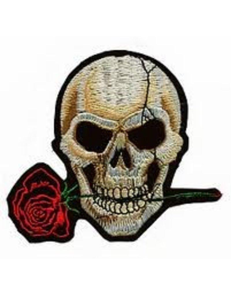 Badgeboy Skull and rose 78 C