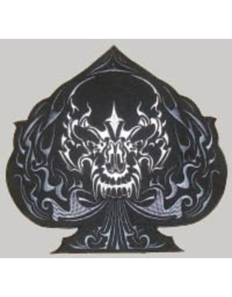 Badgeboy Black Spade skull 472 R