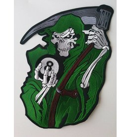 Reaper with 8 ball green