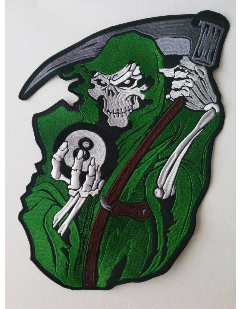Reaper with 8 ball green 558 R