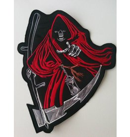 Pointing Reaper red