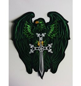 Badgeboy Eagle with Sword Green 545 R