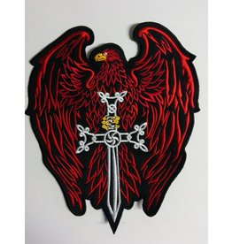 Eagle with Sword red 547 R