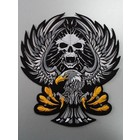 Eagle with Skull black 117 R