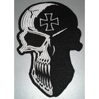 Skull with Maltezer cross 655 R