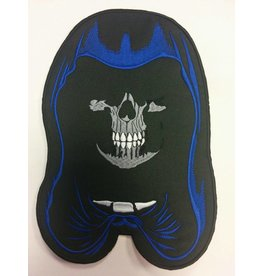 Hooded skull Blue 587 R