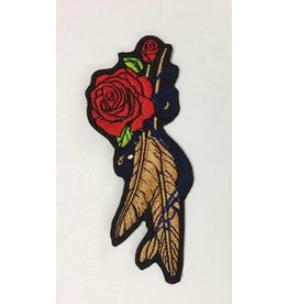 Rose and Feather small 75 E