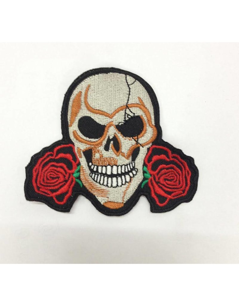 Skull and two roses 76 E