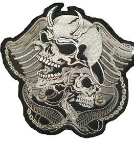 badgeboy Devil and angel skulls