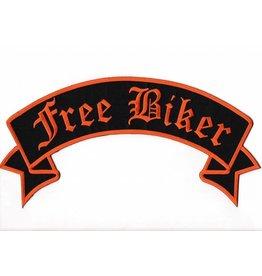 Free Biker Orange