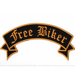 Free Biker Yellow Gold