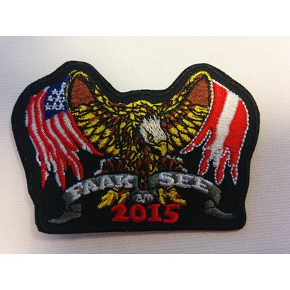 Faak am See 2015 Eagle with flag