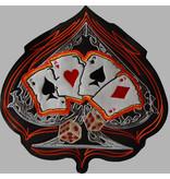 Badgeboy Spade and Cards orange 200 R