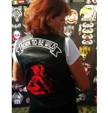 Badgeboy Lady in Red 166 R