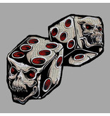 Badgeboy Skull Dices  30 cm