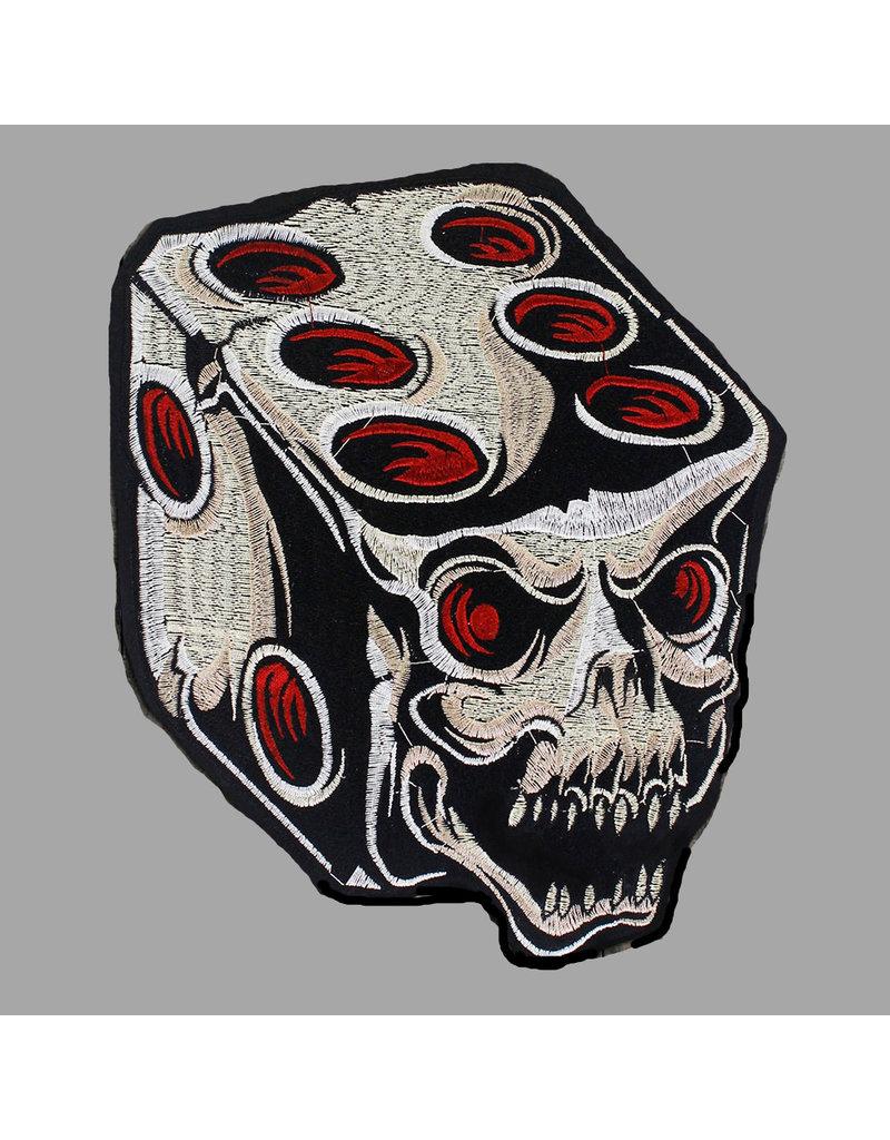 Badgeboy Dice skull patch