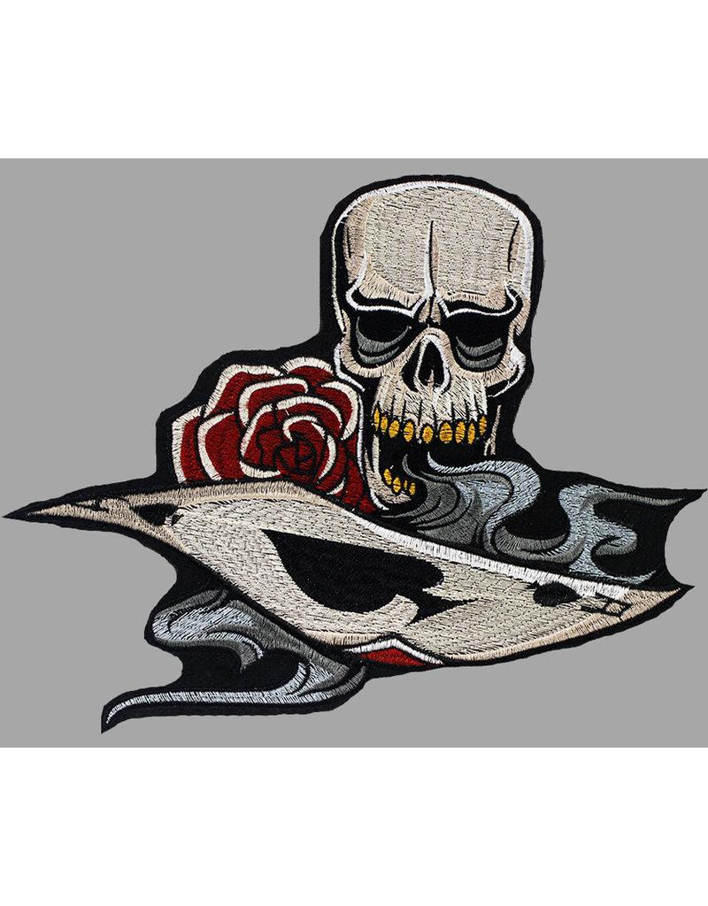 Badgeboy Card Skull Patch