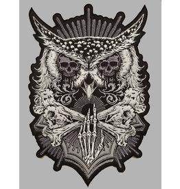 Badgeboy Skull owl