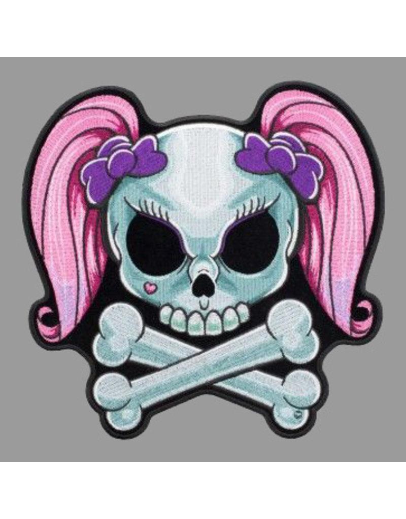 badgeboy Skull lady