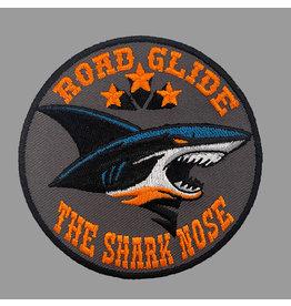 Badgeboy Road Glide Shark Nose Orange