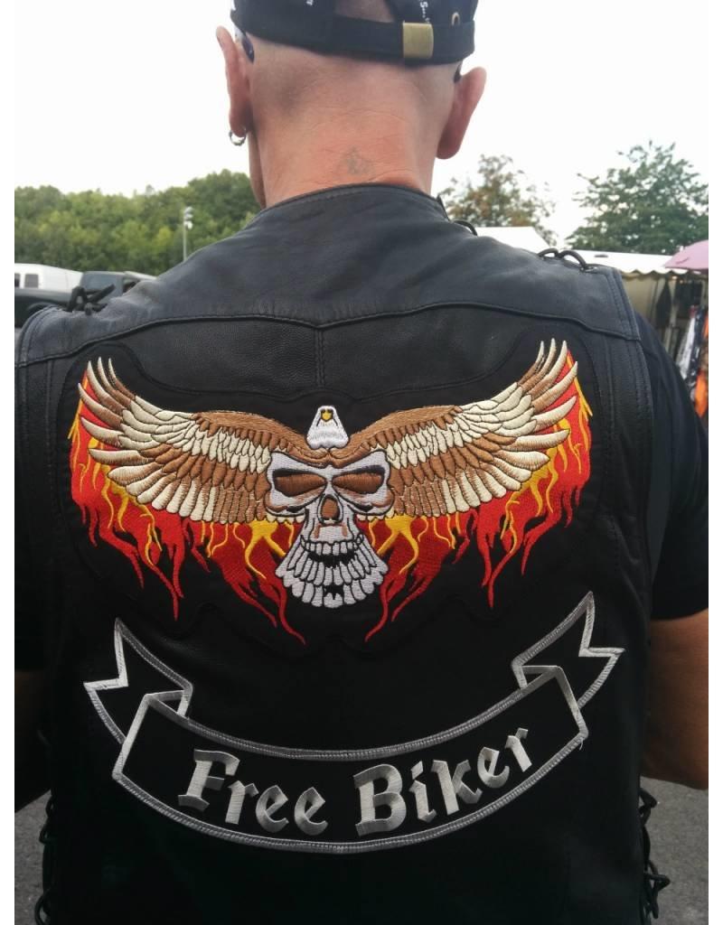 Eagle Wide with Skull 371 E