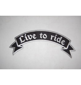 Badgeboy Live to Ride Patch