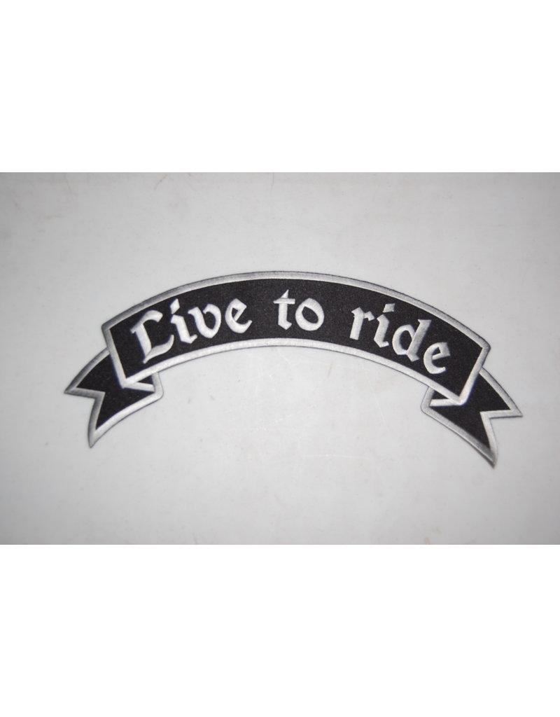 Badgeboy Live to Ride