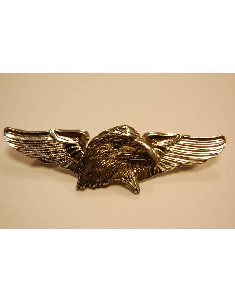 Eagle Head winged pin
