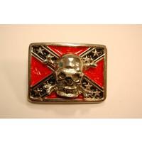 3-D Rebel Flag Skull pin SOLD OUT