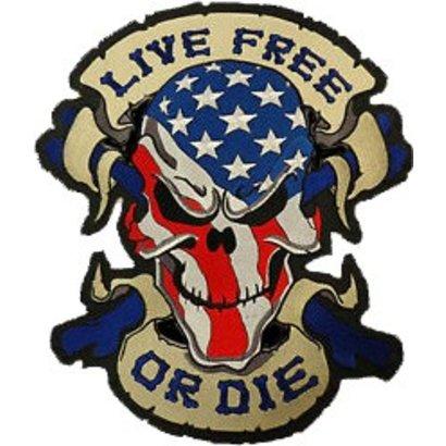 Live Free skull Nr 659 R
