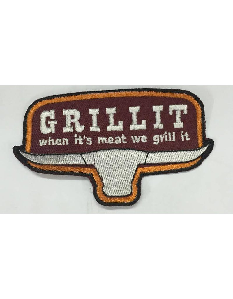 Grill it a small patch