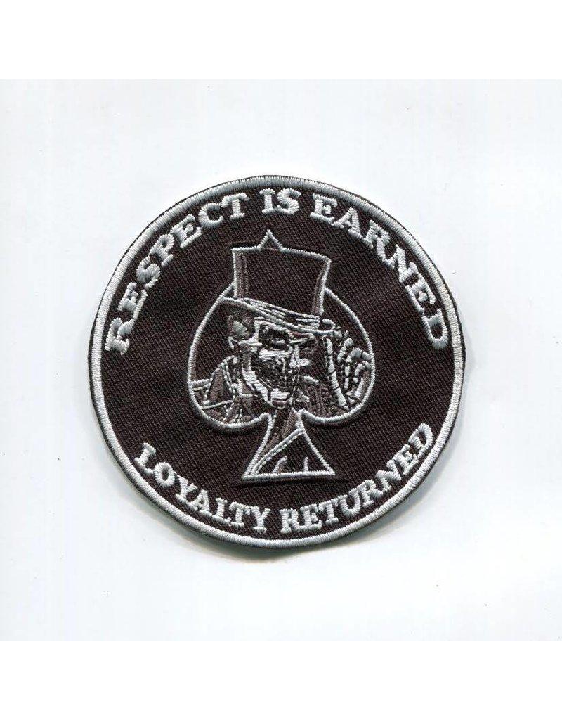 Badgeboy Respect skull