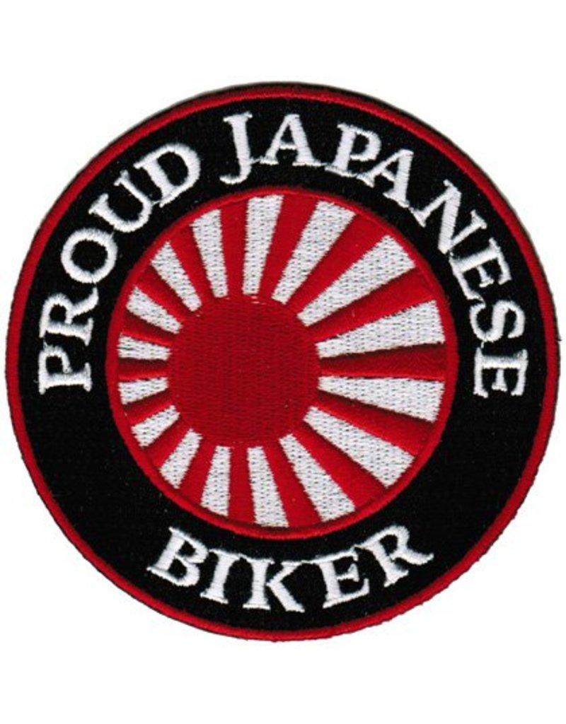 Proud Japanse biker