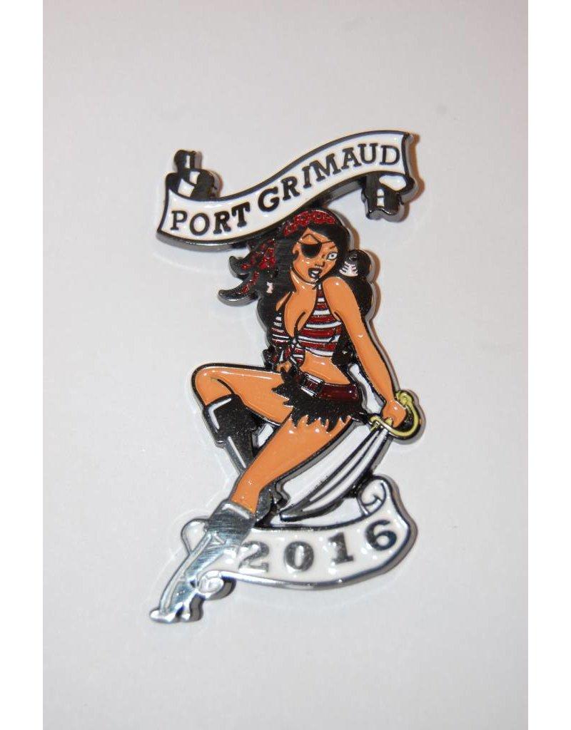 Port Grimaud 2016 pin