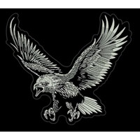 The Black and White eagle