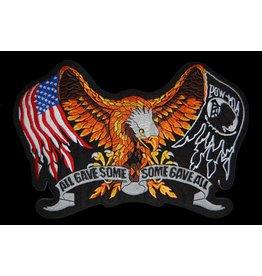 POW MIA USA Eagle