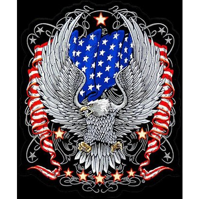 Eagle and Flag