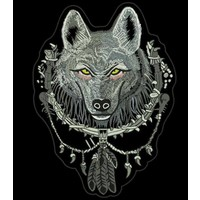 The Grey Wolf medium 12 cm