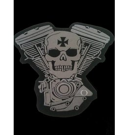 Skull and Engine light grey 473 E