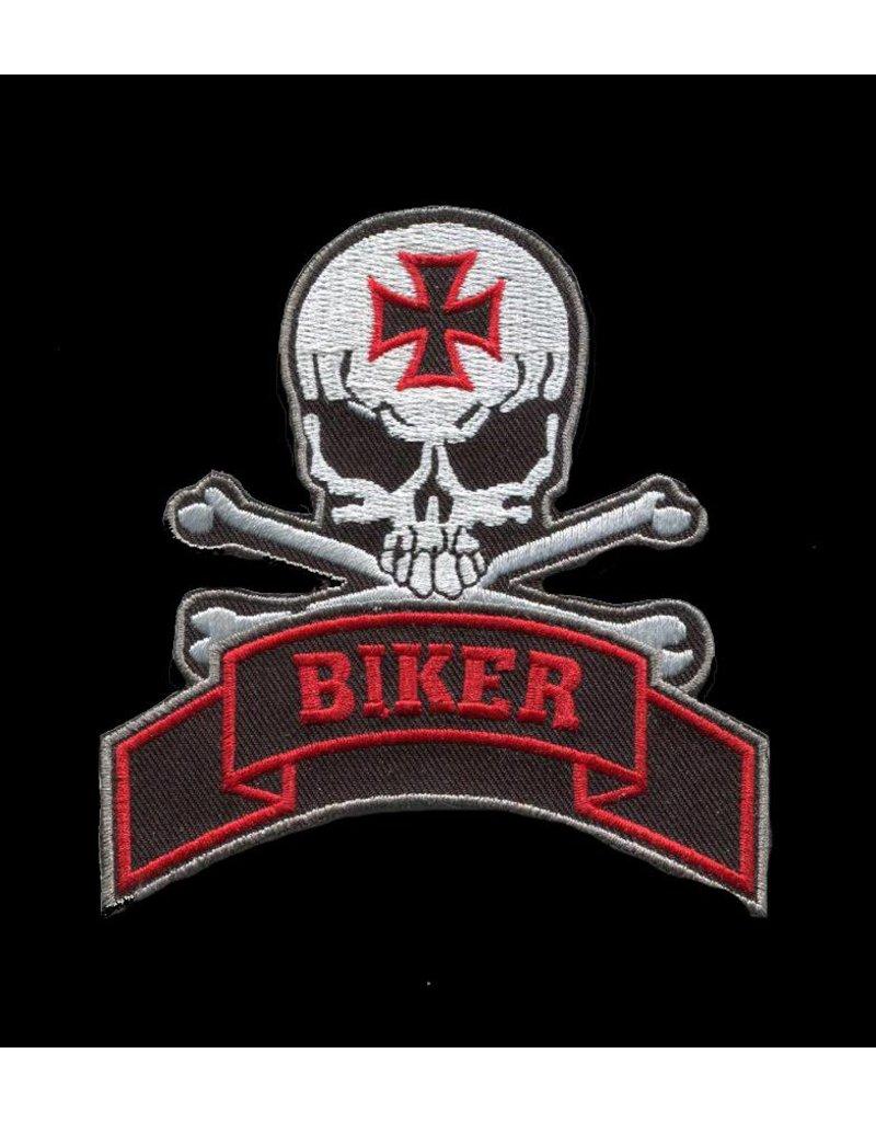 Badgeboy Biker skull 345 E