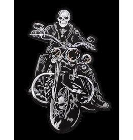 The Biker patch Black