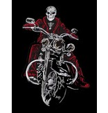 The Biker patch red