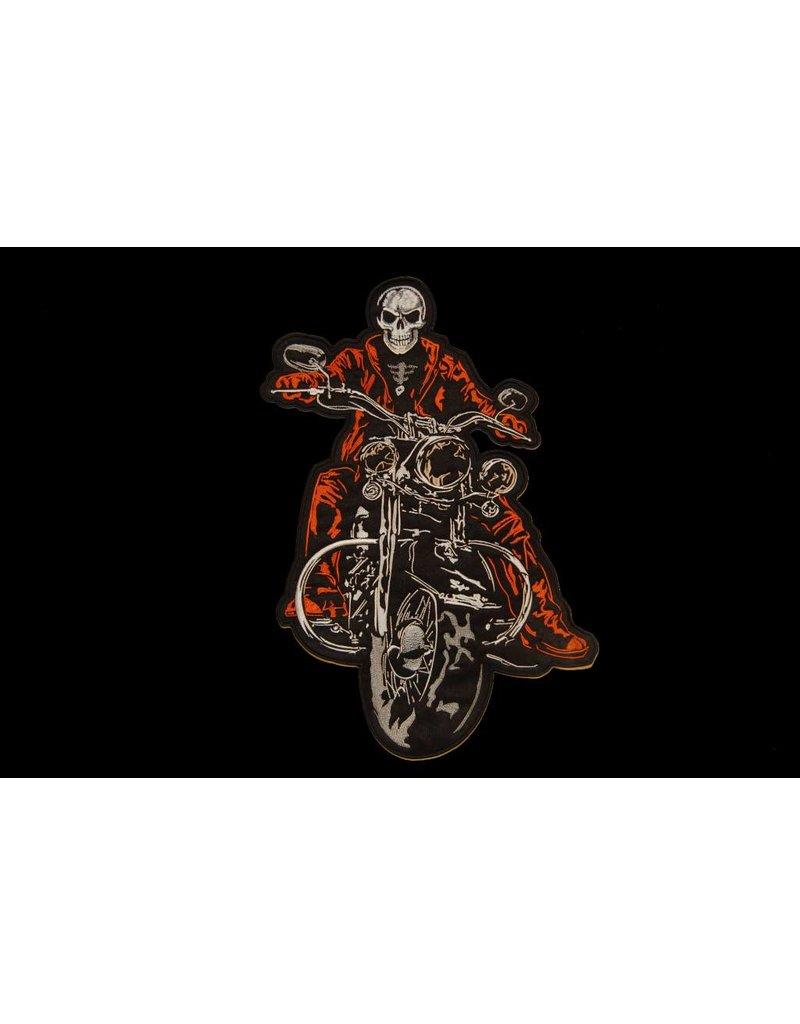 Badgeboy The Biker patch orange