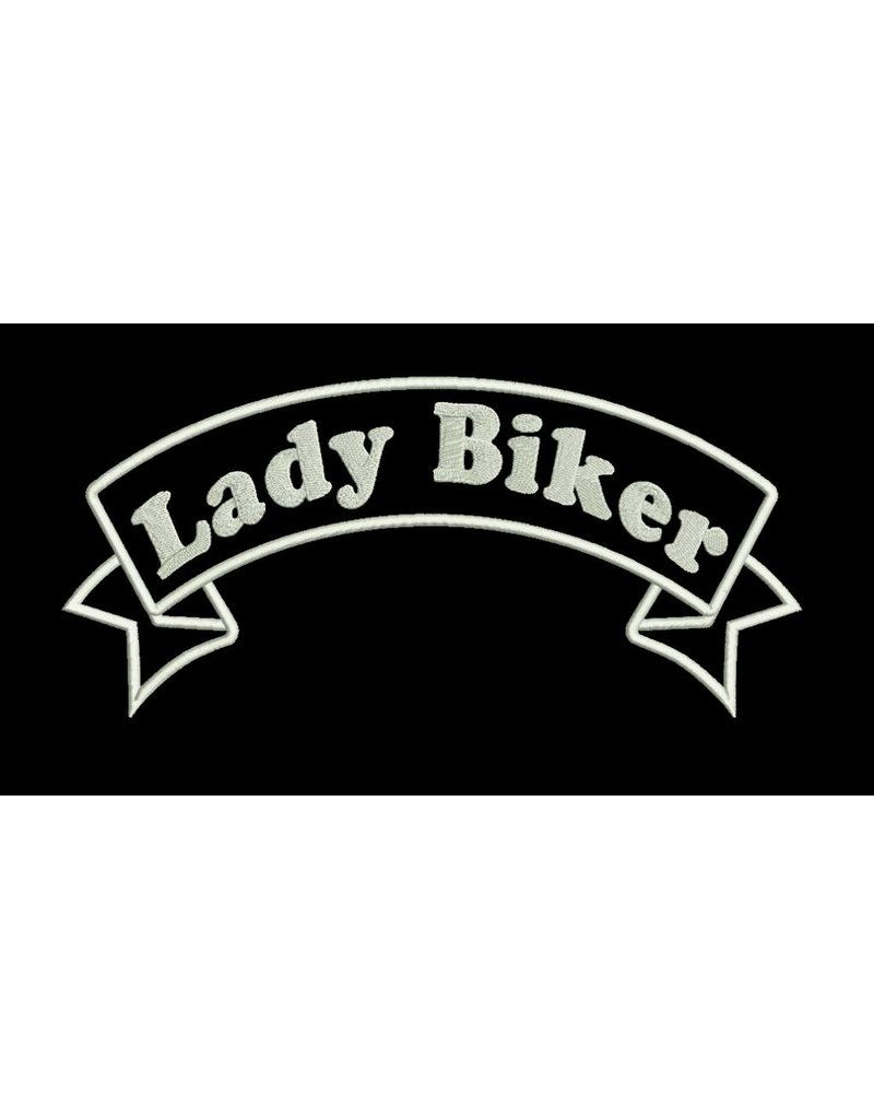 Lady Biker Banner