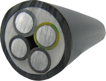 Erdkabel Starkstromkabel NAYY-J 4x16 RE Meterware Geprüft & CE